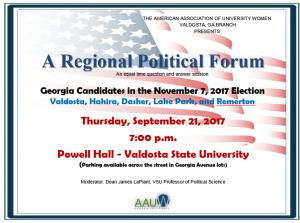 A Regional Political Forum